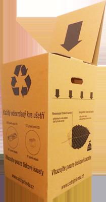 Sběrný box na tonery a inkousty